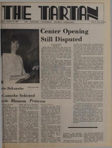 Tartan, 1982-01-28