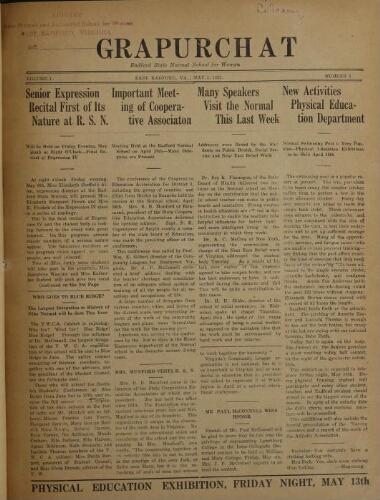 Grapurchat, May 5, 1921
