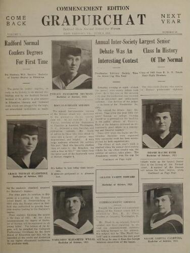 Grapurchat, June 6, 1921