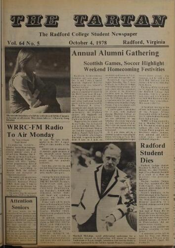 Tartan, 1978-10-04